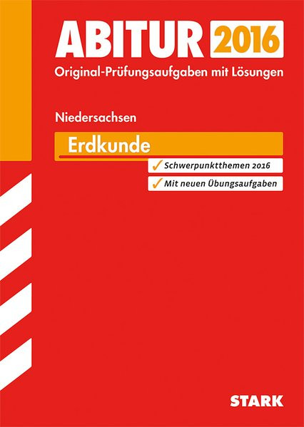 STARK Abiturprüfung Niedersachsen - Erdkunde GA/EA