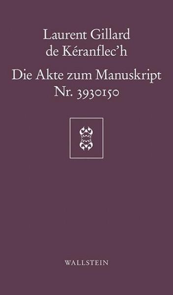 Die Akte zum Manuskript Nr. 3930150
