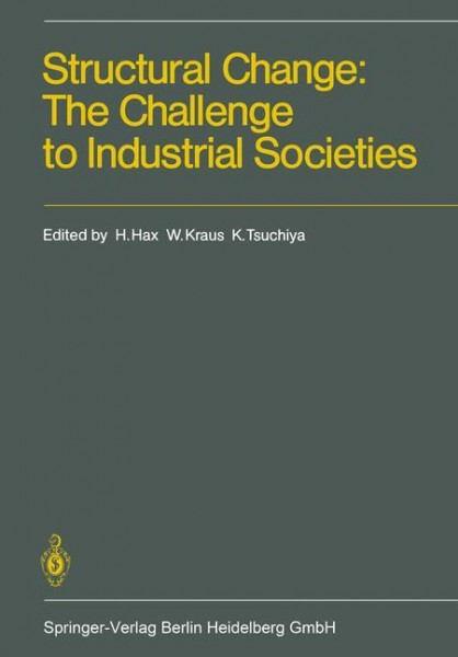 Structural Change: The Challenge to Industrial Societies