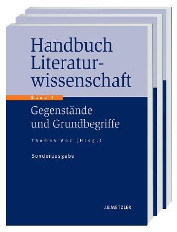 Handbuch Literaturwissenschaft. Sonderausgabe