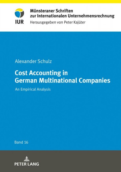Cost Accounting in German Multinational Companies