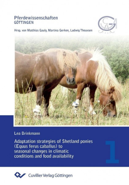 Adaptation strategies of Shetland ponies (Equus ferus caballus) to seasonal changes in climatic cond