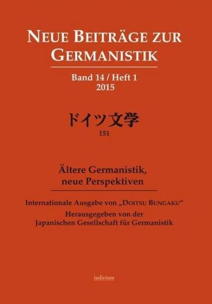 Neue Beiträge zur Germanistik, Band 14 / Heft 1 / 2015
