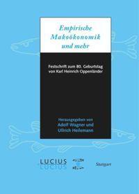 Empirische Makroökonomik und mehr