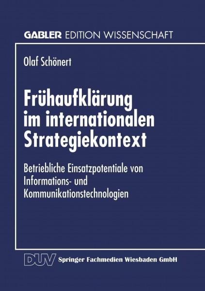 Frühaufklärung im internationalen Strategiekontext