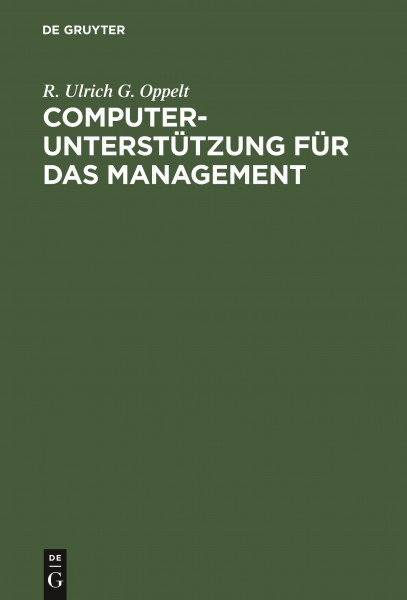 Computerunterstützung für das Management