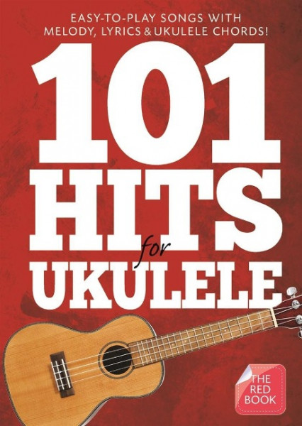101 Hits For Ukulele Red Book Uke Book