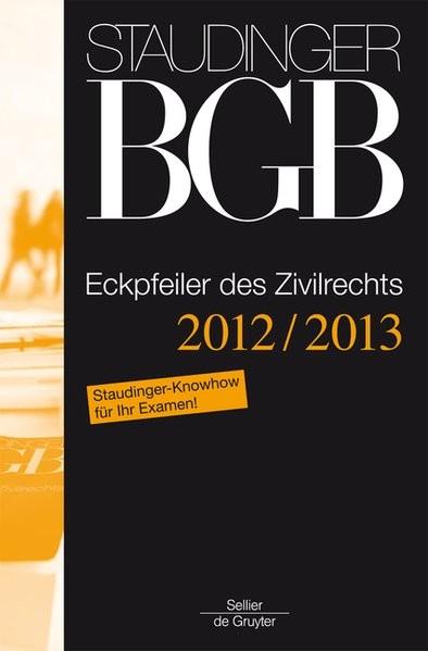 J. von Staudingers Kommentar zum Bürgerlichen Gesetzbuch mit Einführungsgesetz und Nebengesetzen: Ec