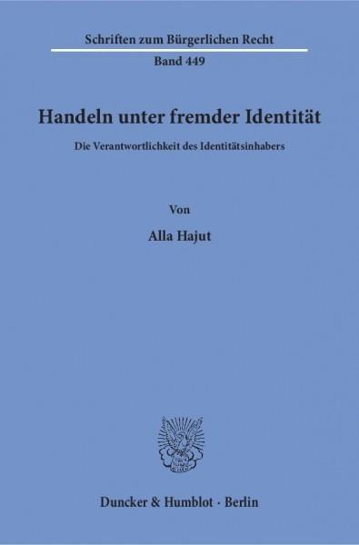 Handeln unter fremder Identität