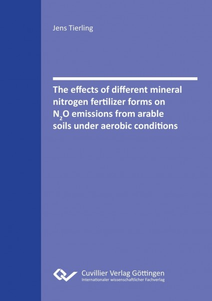The effects of different mineral nitrogen fertilizer forms on N2O emissions from arable soils under aerobic conditions