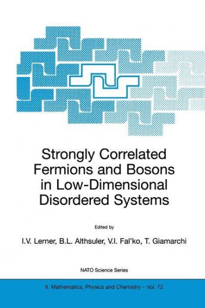 Strongly Correlated Fermions and Bosons in Low-Dimensional Disordered Systems