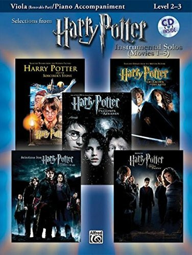 Harry Potter Movies 1-5, w. Audio-CD, for Viola and Piano Accompaniment (Harry Potter Instrumental S