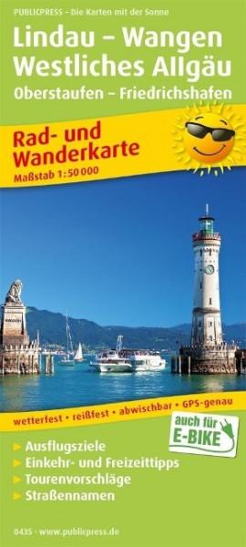 Lindau - Wangen - Westliches Allgäu 1:50 000
