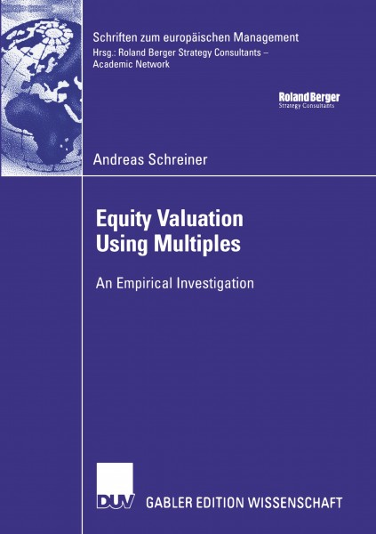 Equity Valuation Using Multiples