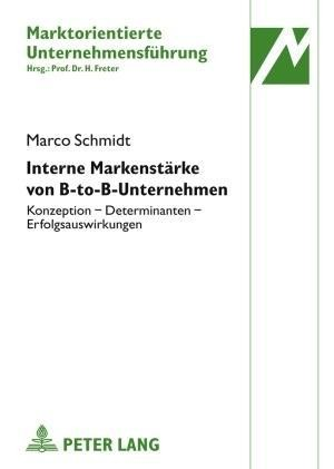 Interne Markenstärke von B-to-B-Unternehmen