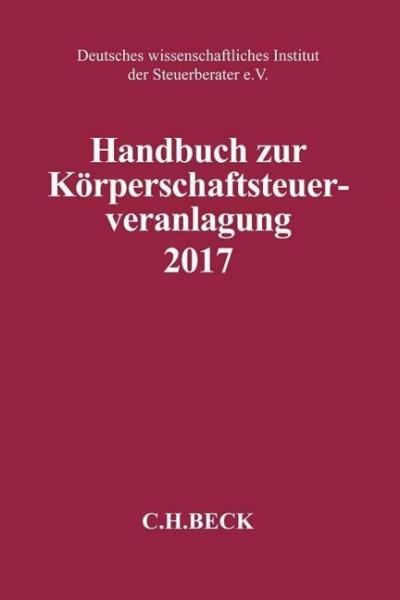 Handbuch zur Körperschaftsteuerveranlagung 2017