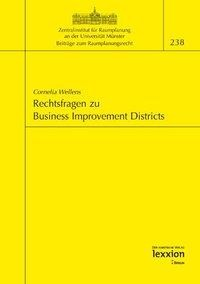 Rechtsfragen zu Business Improvement Districts