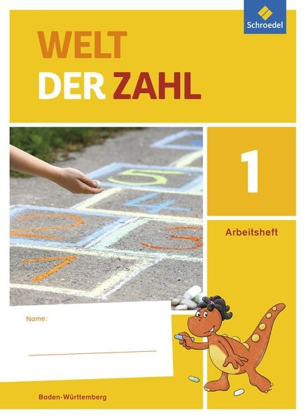 Welt der Zahl 1. Arbeitsheft. Baden-Württemberg