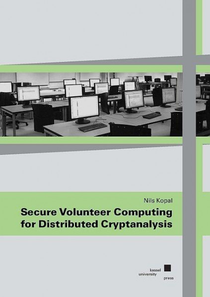 Secure Volunteer Computing for Distributed Cryptanalysis