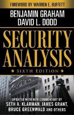 Security Analysis Sixth Edition