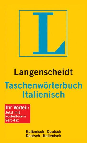 Taschenwörterbuch Italienisch. Langenscheidt