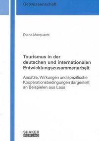Tourismus in der deutschen und internationalen Entwicklungszusammenarbeit