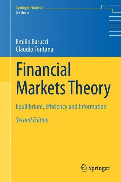 Financial Markets Theory