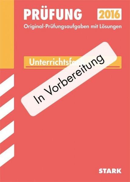 Abitur-Prüfungsaufgaben Mathematik Grundkurs 2015 Gymnasium Sachsen. Mit Lösungen