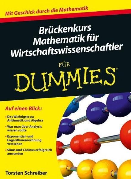 Brückenkurs Mathematik für Wirtschaftswissenschaftler für Dummies