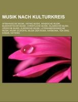 Musik nach Kulturkreis - Quelle: Wikipedia