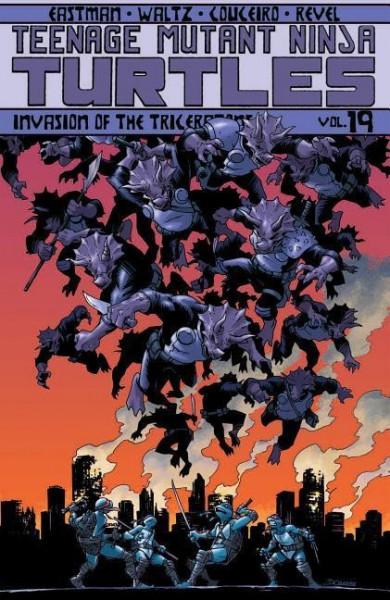 Teenage Mutant Ninja Turtles Volume 19 Invasion Of The Triceratons