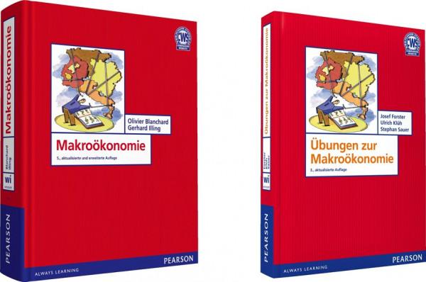 ValuePack Makroökonomie + Übungsbuch: Bundle Lehrbuch + Übungen (Pearson Studium - Economic VWL)