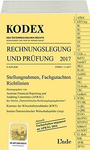 KODEX Rechnungslegung und Prüfung 2017 (Kodex des Österreichischen Rechts)