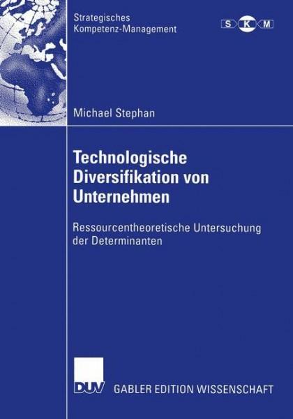 Technologische Diversifikation von Unternehmen