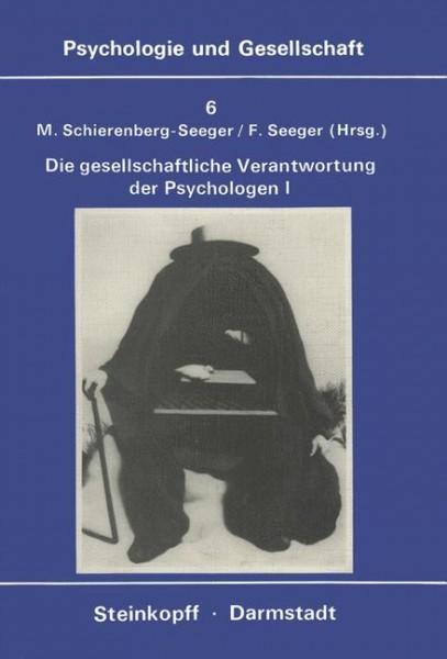 Die gesellschaftliche Verantwortung Der Psychologen 1