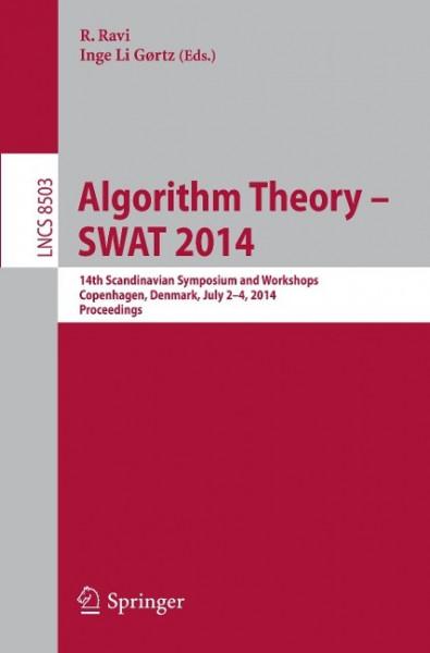 Algorithm Theory -- SWAT 2014