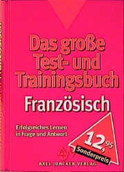 Das große Testbuch und Trainingsbuch, Französisch
