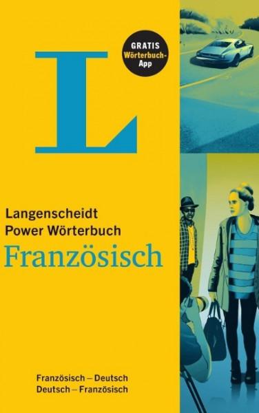 Langenscheidt Power Wörterbuch Französisch - Buch und App