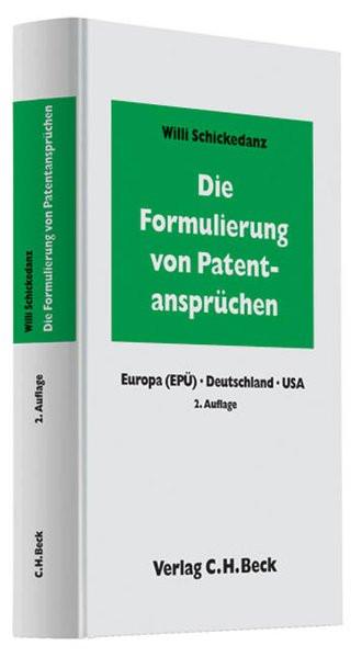 Die Formulierung von Patentansprüchen