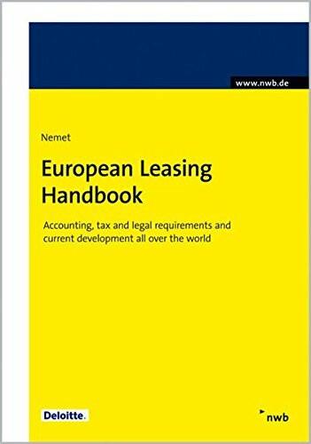 European Leasing Handbook 2011