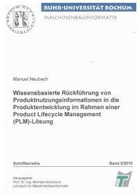 Wissensbasierte Rückführung von Produktnutzungsinformationen in die Produktentwicklung im Rahmen ein