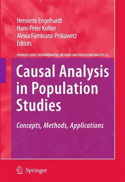 Causal Analysis in Population Studies