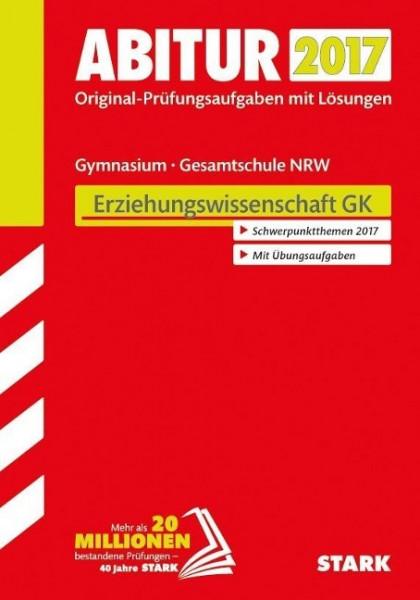 Abiturprüfung Nordrhein-Westfalen 2017 - Erziehungswissenschaft GK