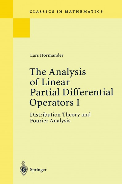 The Analysis of Linear Partial Differential Operators I