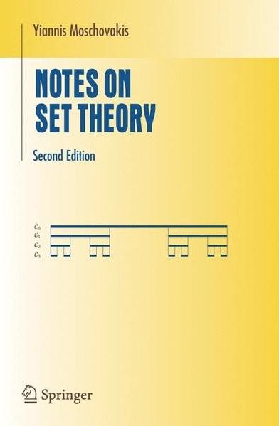 Notes on Set Theory (Undergraduate Texts in Mathematics)