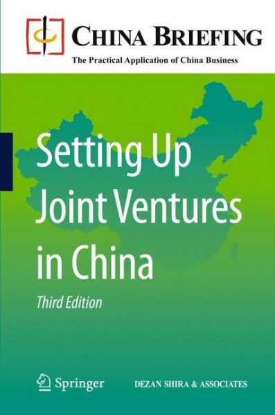 Setting Up Joint Ventures in China