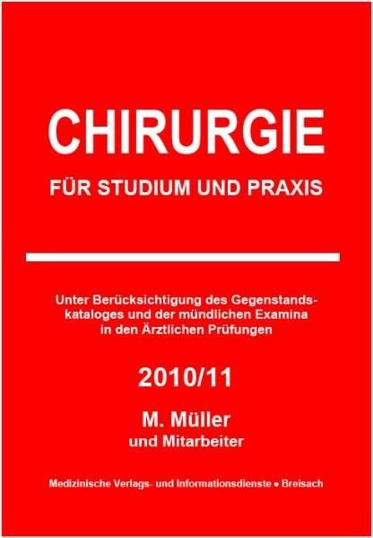 Chirurgie: für Studium und Praxis - 2011/12