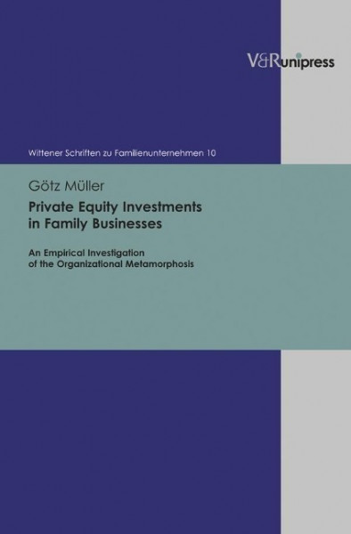 Private Equity Investments in Family Businesses