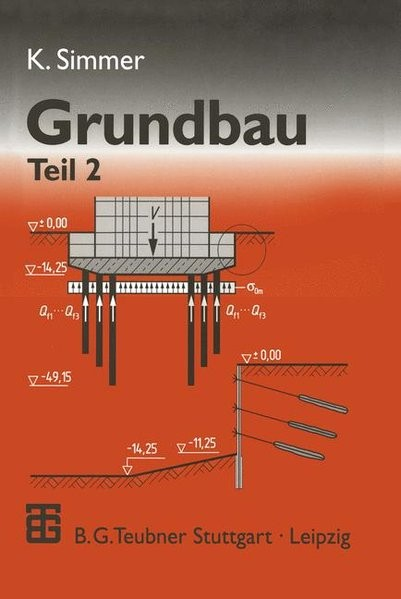 Grundbau, 2 Tle., Tl.2, Baugruben und Gründungen