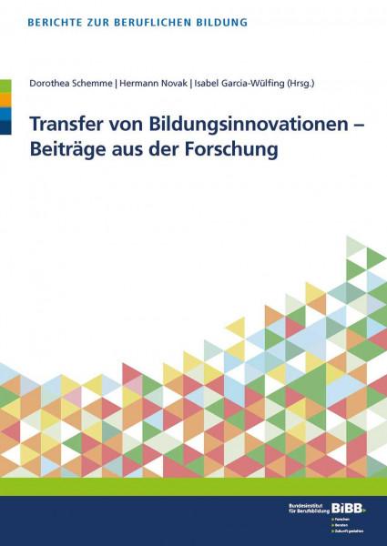 Transfer von Bildungsinnovationen - Beiträge aus der Forschung